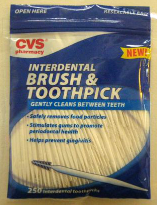 Detail about one toothbrush